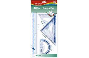 DRAWING SET KEYROAD 30cm